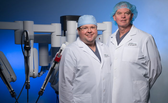 Robotic Surgery Drs. Shepherd and Bozeman