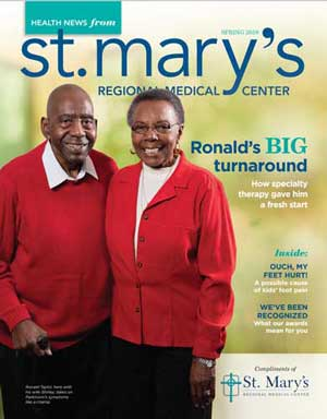 St Mary's Spring 2019 Health News Cover