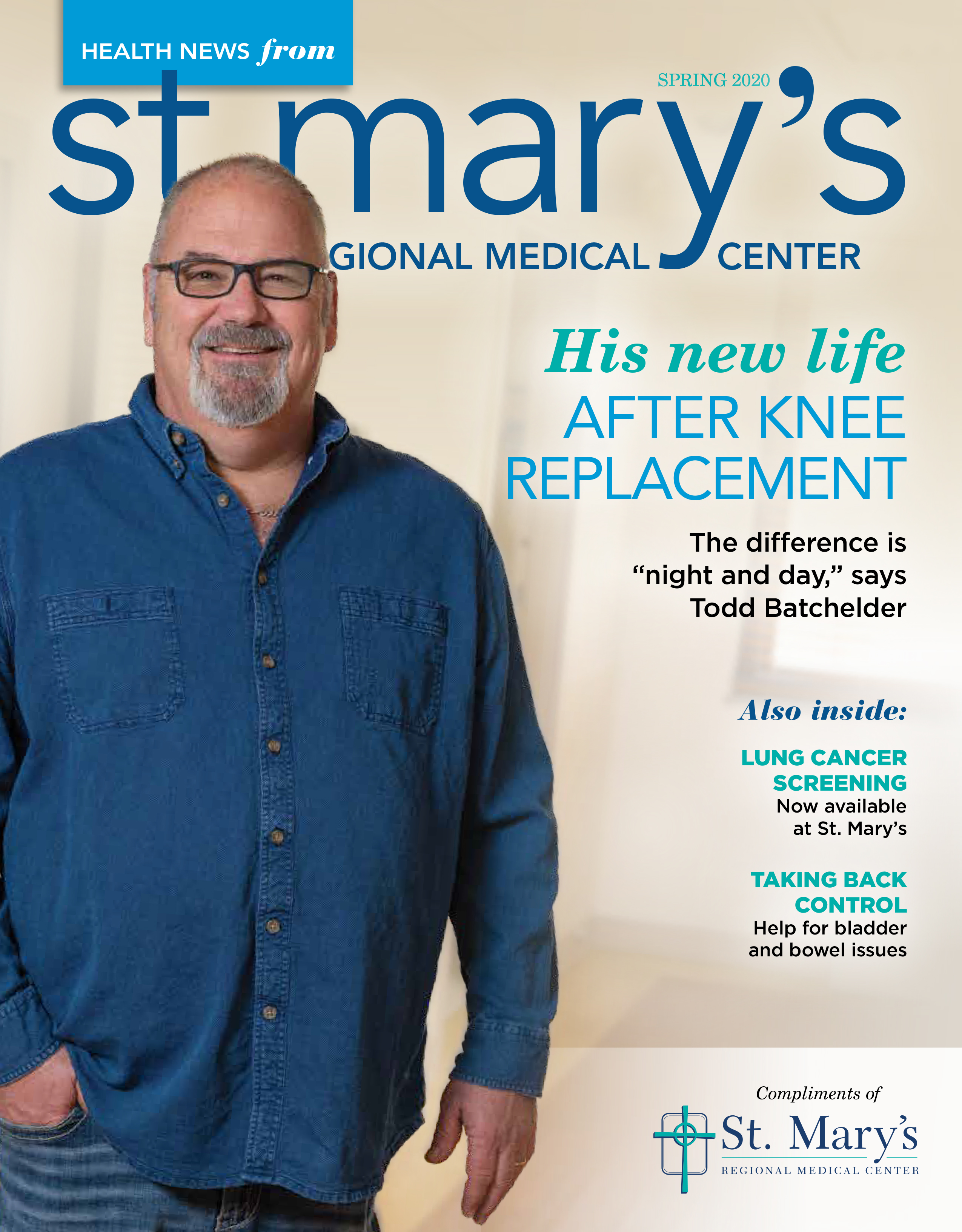 St. Mary's Health News Magazine Cover Spring 2020
