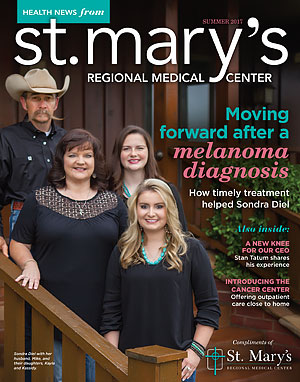 St. Mary's Health News Magazine Summer 2017