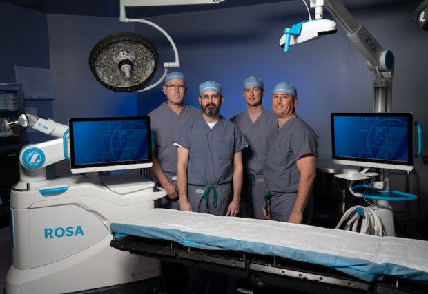 St. Mary's Regional Medical Center First in Region to Add Robotic Knee Replacement Technology to Surgical Services