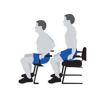 Strength Training - Armchair Push Ups