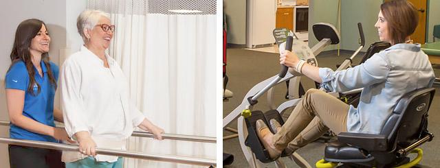 Rehabilitación para lesiones físicas