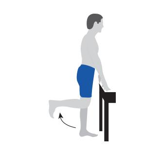 Strength Training - Standing Knee Flexion